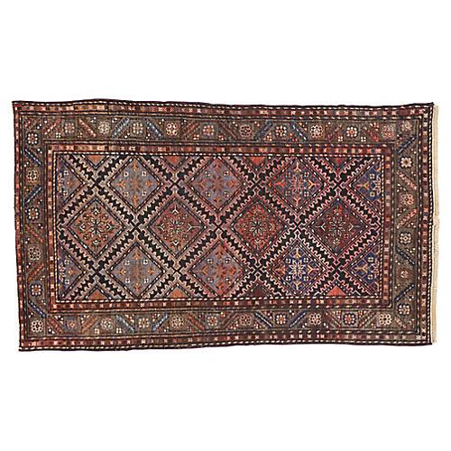 Antique Persian Hamadan Rug, 3'8x6'2