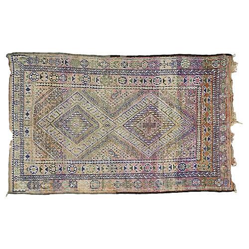 "Moroccan Rug, 6'1"" x 9'7"""