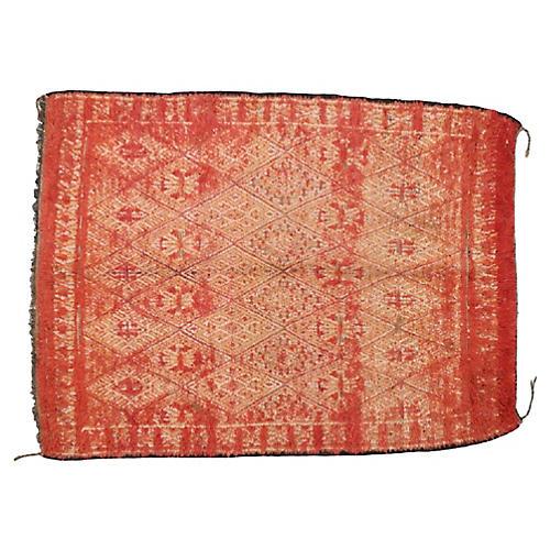 """Moroccan Berber Rug, 7'6"""" x 9'9"""""""