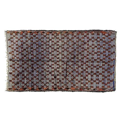 """Moroccan Berber Rug, 6'2"""" x 10'"""