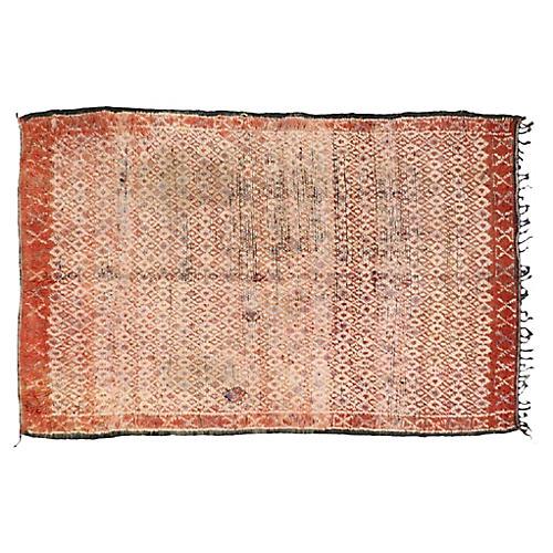 """Moroccan Berber Rug, 5'4"""" x 8'3"""""""