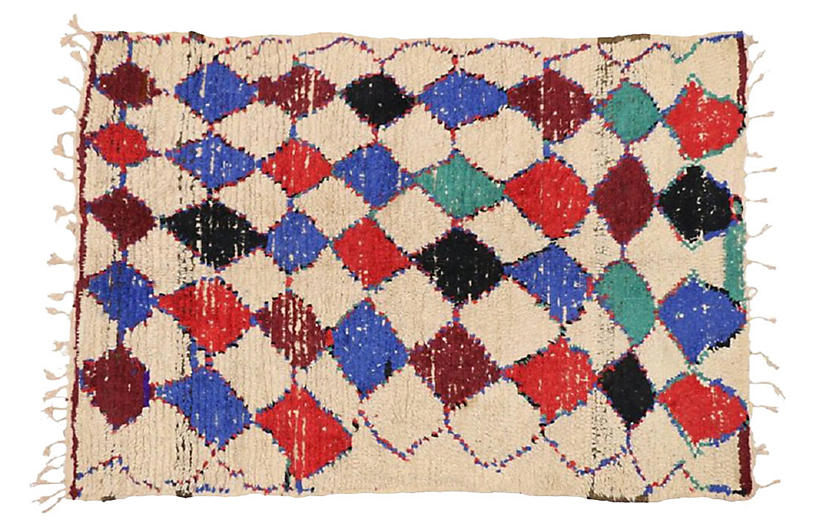 Moroccan Rug, 4'9