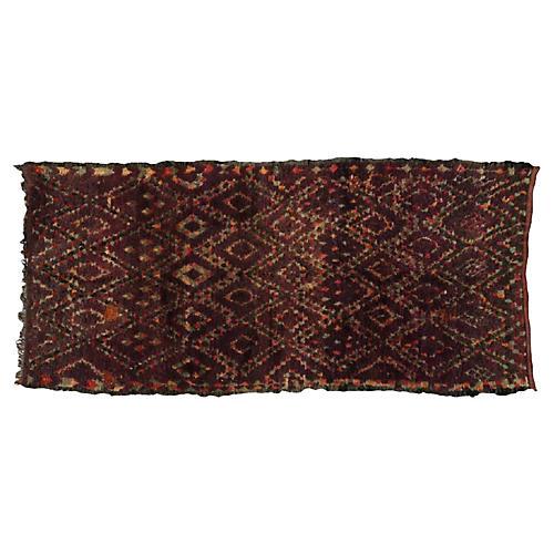 """Berber Rug, 5'2"""" x 11'1"""""""