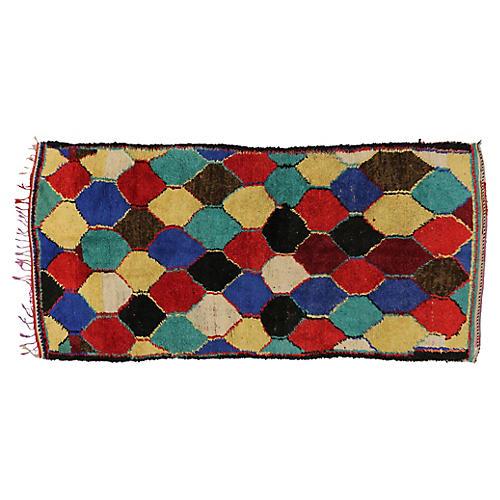 """Berber Rug, 4'6"""" x 9'5"""""""