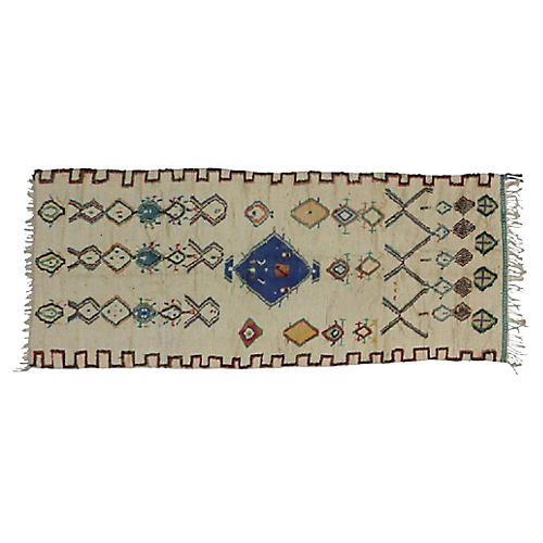 "Moroccan Azilal Runner, 4'6"" x 10'4"""