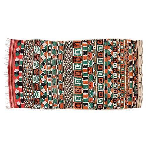 Berber Moroccan Rug,4'8 x 8'4