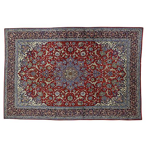 "Persian Isfahan Rug, 6'9"" x 9'10"""