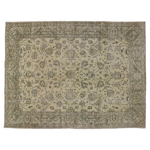 "Turkish Sivas Carpet, 9'11"" x 13'2"""