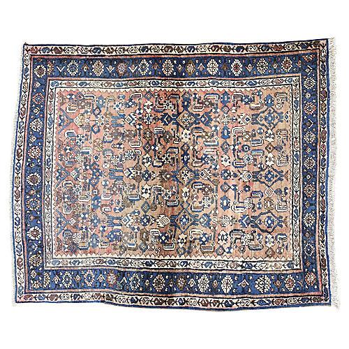 "Persian Bijar Rug, 3'8"" x 4'5"""