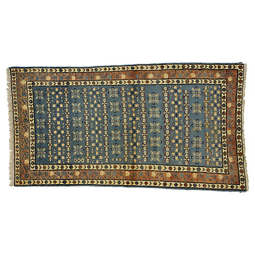 Vintage Persian Mashhad Rug, 2'10 x 5'3