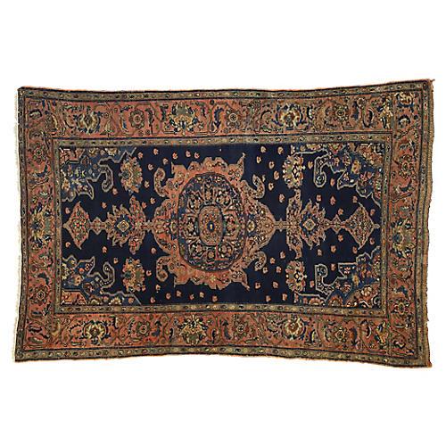 Antique Persian Malayer Rug, 3'11 x 5'11