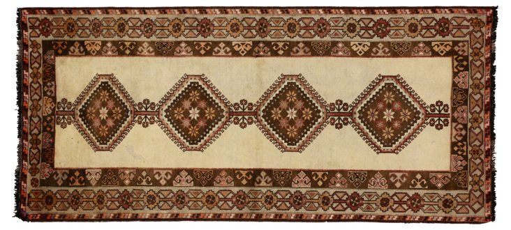 "Persian Shiraz Runner, 3'9"" x 6'8"""