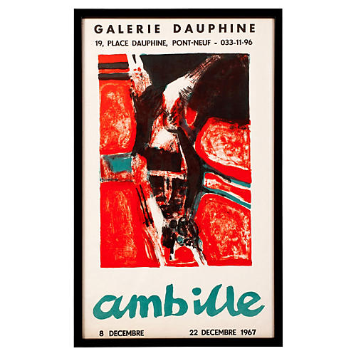 Galerie Dauphine Lithograph