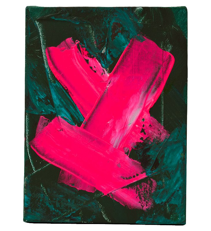 Vibrant Abstract Painting