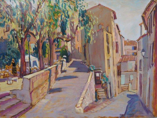 The Village of Bargemon, Provence