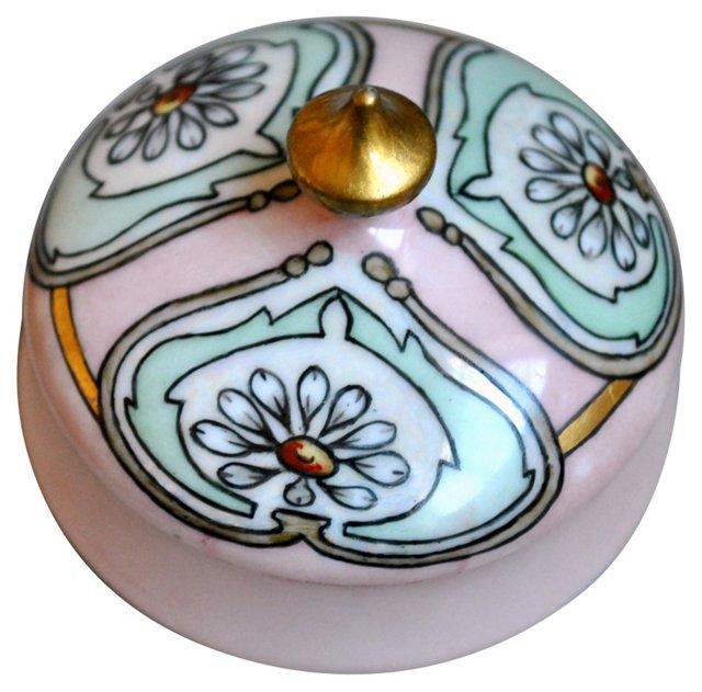 Limoges Art Nouveau Trinket Dish