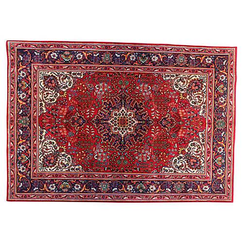 "6'6"" x 9'6"" Vintage Persian Rug"