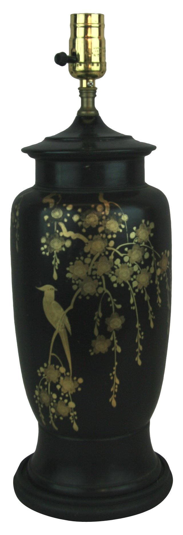 Hand-Painted Japanese Lamp