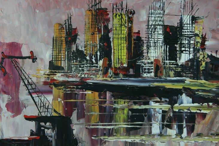 Modernist  City by Morris Katz, 1978
