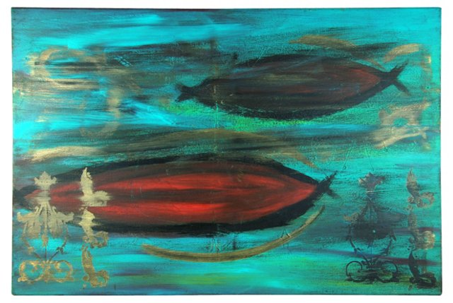 Moderne Red Fish