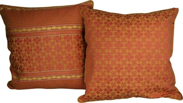 Italian  Pillows, Pair