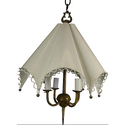 Umbrella-Shaped Chandelier