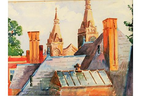 European Village Roof Tops