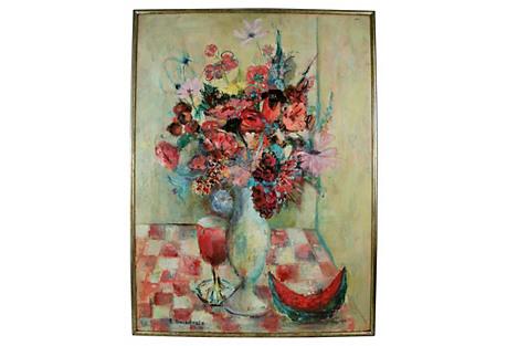 Modern Floral Still Life