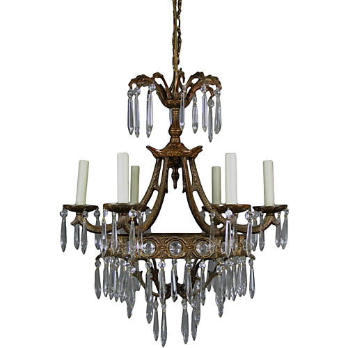 Crystal Prism Chandelier