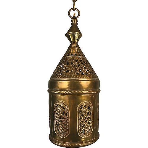 Moroccan-Style Pierced Pendant