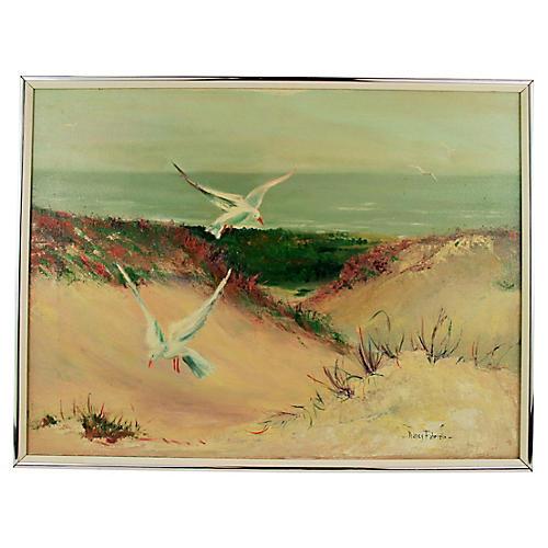 Sand Dunes by Nancy Fabrizio