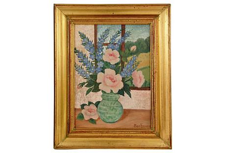 Petit Bouquet by the Window