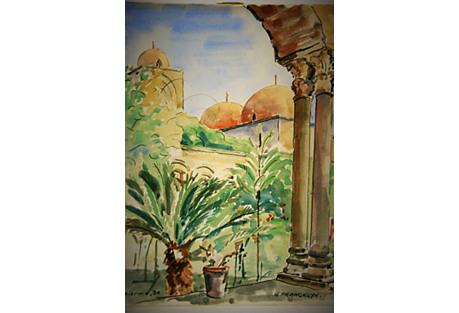Palermo Italy by G. Francklyn