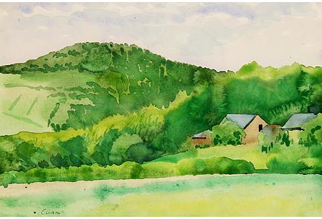 Le Bois French Landscape
