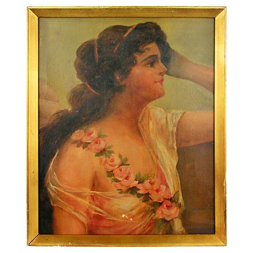 19th-C. Portrait of a Woman