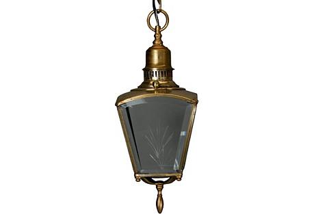 Italian Brass Lantern