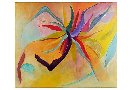 Sunburst Abstract