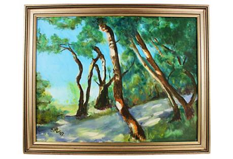 Impressionist Landscape, 1982