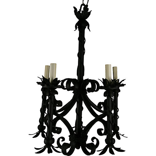 French 5-Light Chandelier