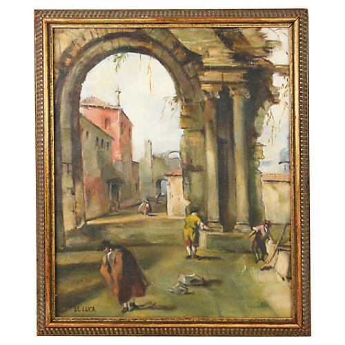 Old Rome Painting
