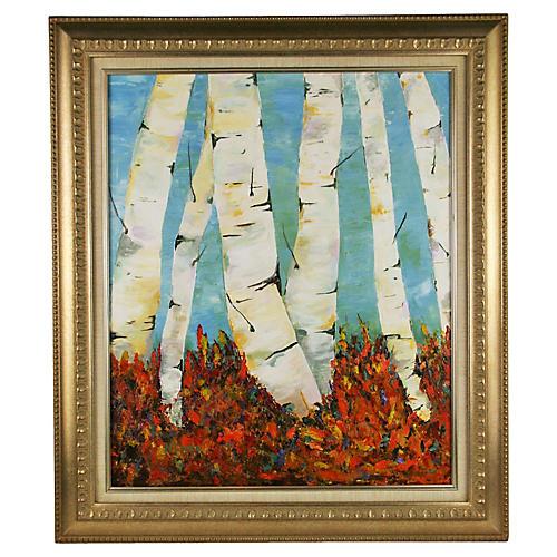 Birch Trees Vista