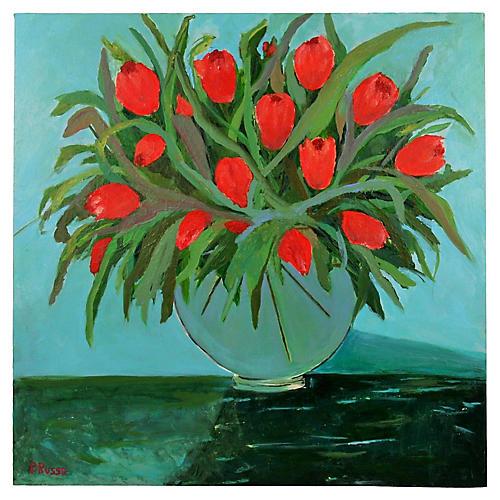Red Tulips Still Life