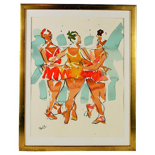 Ballerina Trio