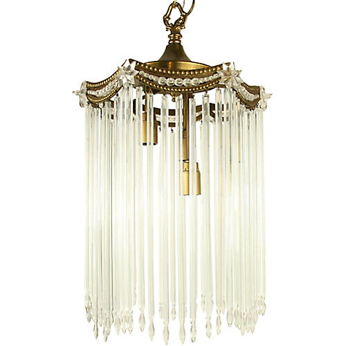 1930s Austrian Pendant Light
