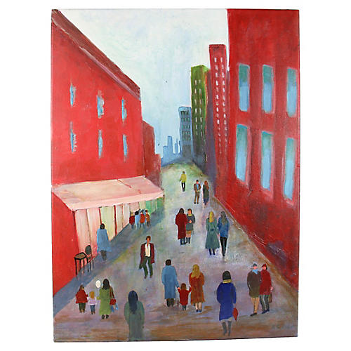 City Promenade Painting