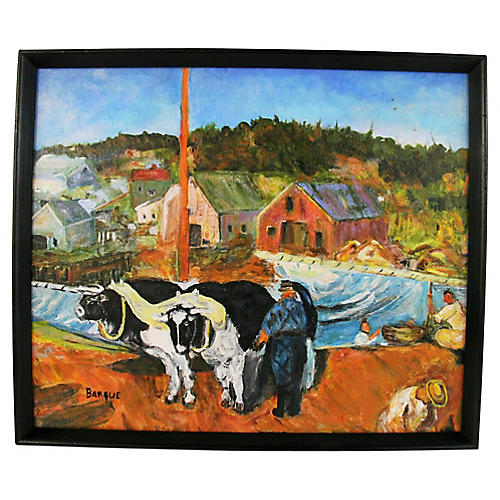 French Farm Landscape