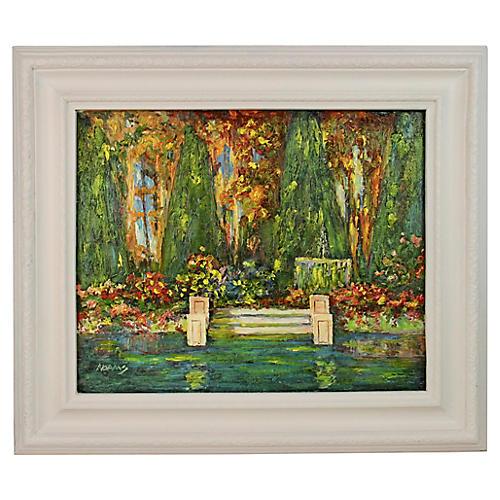 Garden Lush Painting