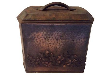 English Copper Tea Tin
