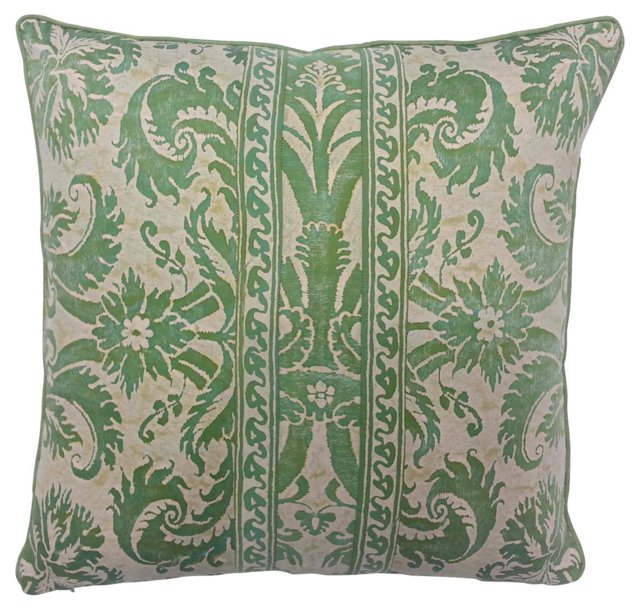 Fortuny Banded Demedici Pillow
