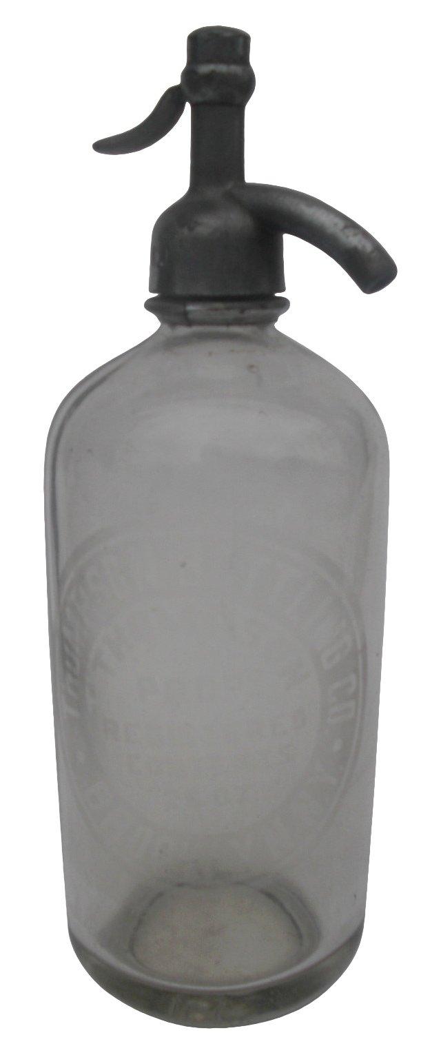 Glass Seltzer  Bottle